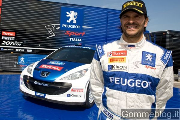 Rally Salento: Andreucci e la sua 207 gommata Pirelli puntano alla 5° vittoria 2