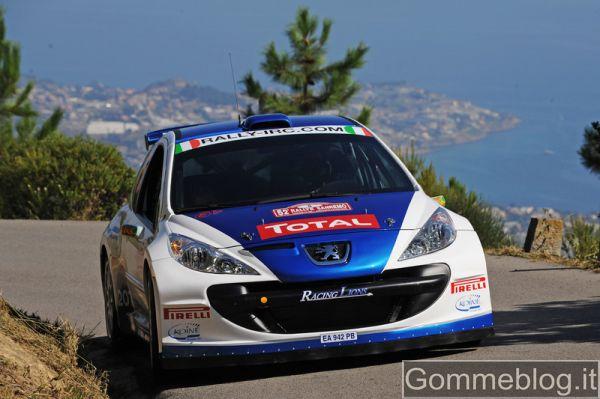 Rally Salento: Andreucci e la sua 207 gommata Pirelli puntano alla 5° vittoria