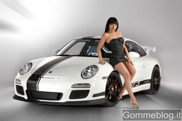 Porsche 911 GT3 tuning Magnat: pneumatici Yokohama e cerchi OZ per scaricare 452 CV