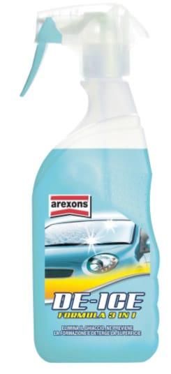 Arexons De-ice: via il ghiaccio dal parabrezza in un istante