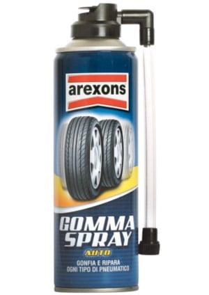 Arexons Gomma Auto Spray: la ruota di scorta in una bomboletta !