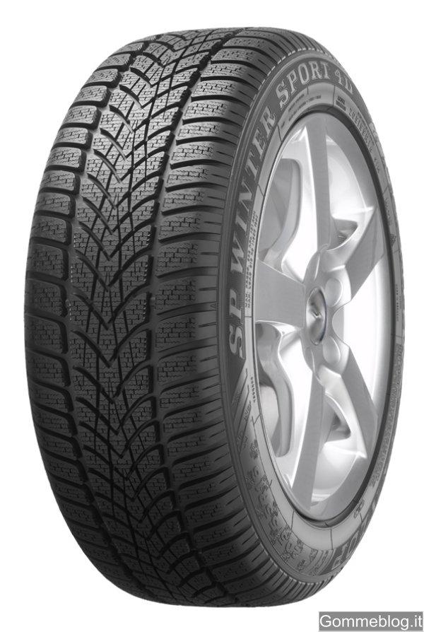 Dunlop SP Winter Sport 4D: anteprima nuovi pneumatici invernali 2