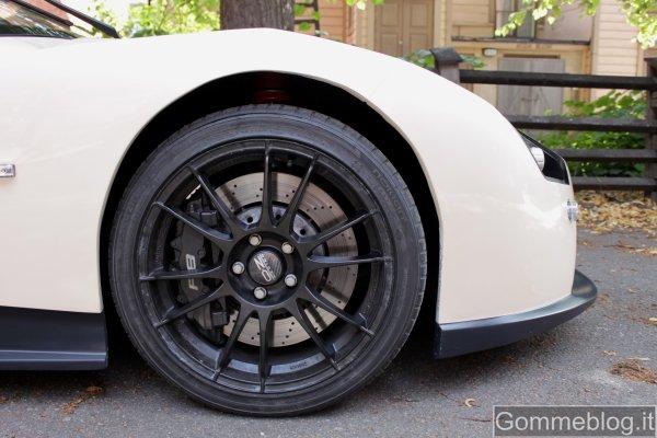 ERA, l'auto sportiva elettrica, equipaggiata con pneumatici Nokian 3