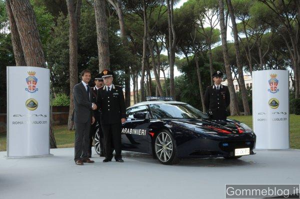 Lotus Evora: nuova auto per i Carabinieri 1