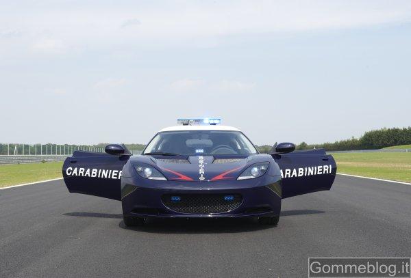 Lotus Evora: nuova auto per i Carabinieri 4