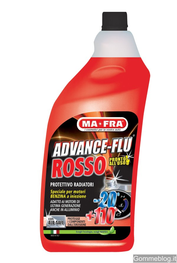 MA-FRA Advance Flu Rosso: nuovo liquido radiatore protettivo