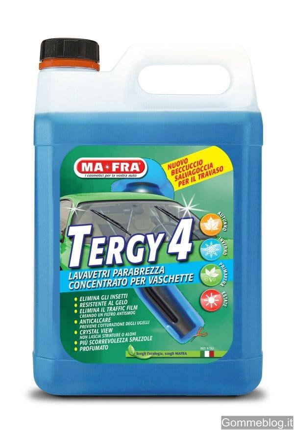 MA-FRA TERGY 4: per una pulizia efficace del parabrezza dell'auto