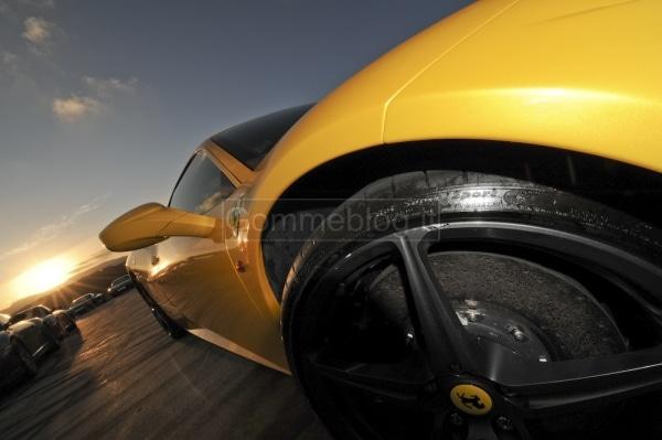 Ferrari 458 Italia: prova e test sulla pista dell'Estoril 3