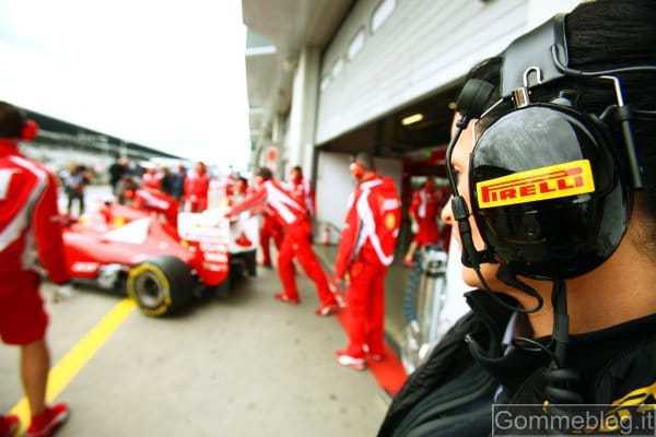 Seconda pole consecutiva per Webber con i pneumatici Pirelli PZero Yellow Soft 1