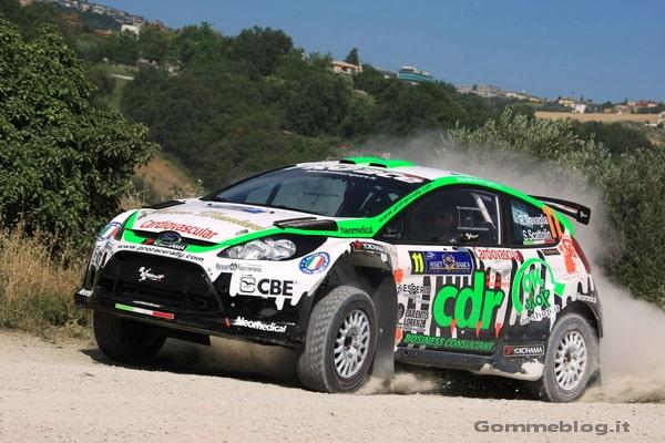 Yokohama e Renato Travaglia sul podio (2° posto) nel rally di San Marino 3
