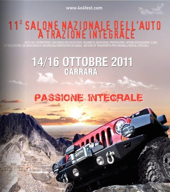 4×4 Fest 2011: a Carrara iniziano i preparativi