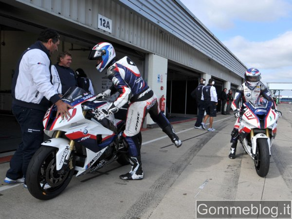 Superbike e Superstock al Nurburgring: prime prove per il Team Bmw Motorrad Italia