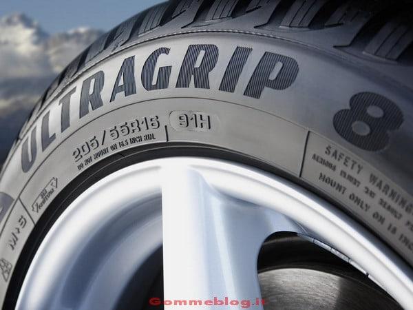Goodyear UltraGrip 8: Anteprima nuovi pneumatici invernali