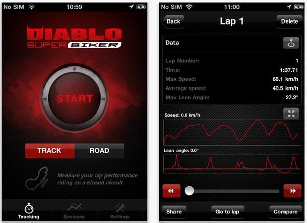 Pirelli Diablo Super Biker: nuova APP iPhone per veri Riders 1