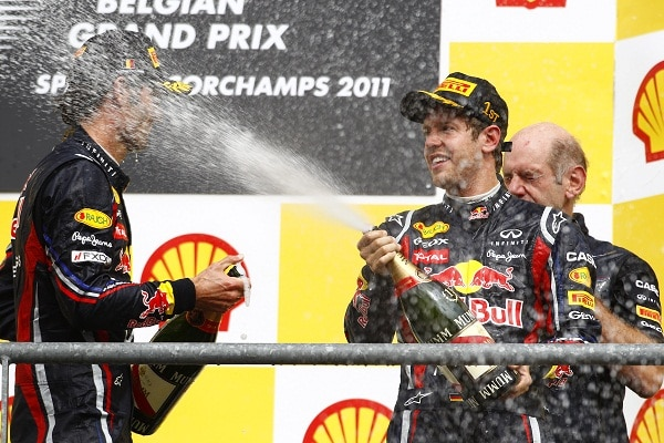 Pirelli F1: Vettel continua la sua leadership in Belgio