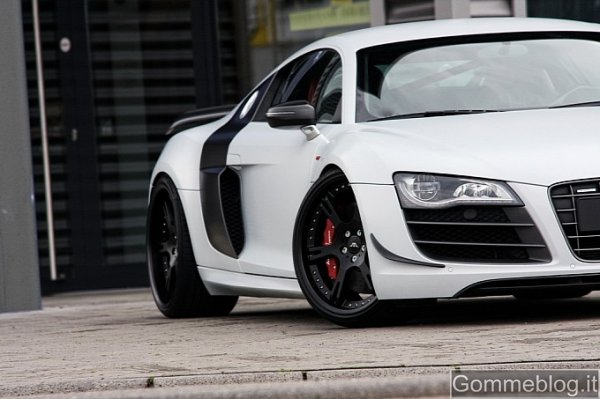 Wheelsandmore Audi R8 GT Supersport Edition: 611 CV e pneumatici UHP