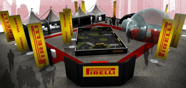 Pirelli F1 Village sabato 3 settembre a Torino
