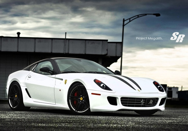 Ferrari 599 GTB Project Megalith, capolavoro di SR Auto Group su cerchi Novitec NF3
