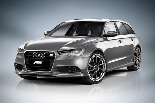 ABT Audi AS6 Avant: cerchi da 21 e 420 CV per sfidare l'S6