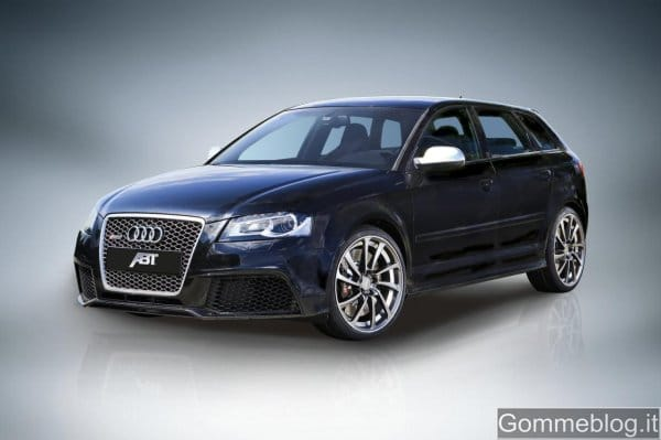 Audi RS3 Tuning ABT: 470 CV e pneumatici 255/30 R19