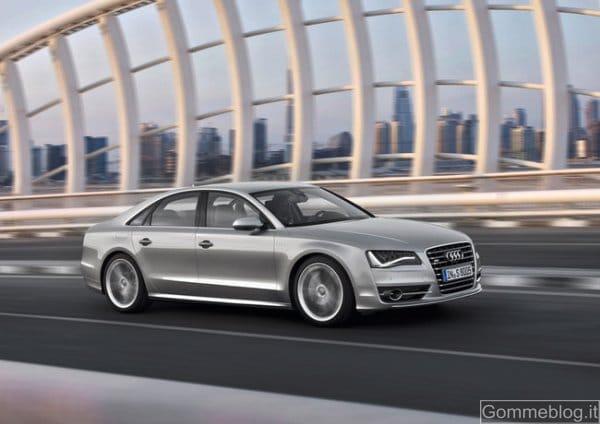 Audi S8: una dieta le ha regalato 70 CV e consumi minori