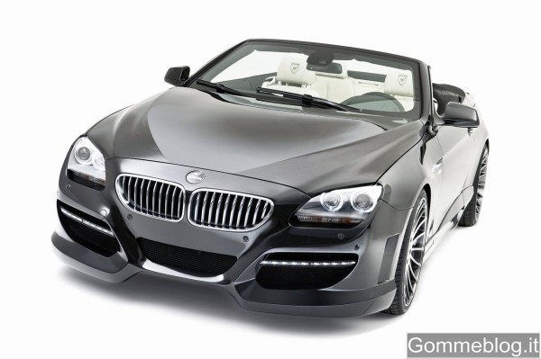 Cerchi in lega da 22 per la BMW Serie 6 Cabrio Hamann