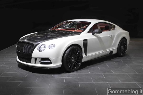 Bentley Continental GT Mansory: unione perfetta di eleganza e sportività