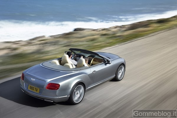 Nuova Bentley Continental GTC: parola d'ordine … qualità