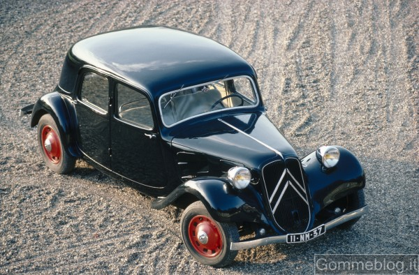 Auto che hanno fatto storia: Citroen Traction Avant