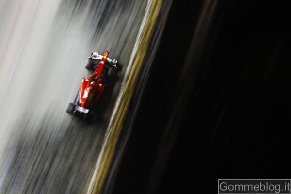 F1 GP Singapore: Vettel più veloce nelle libere con i P Zero Red Supersoft 2