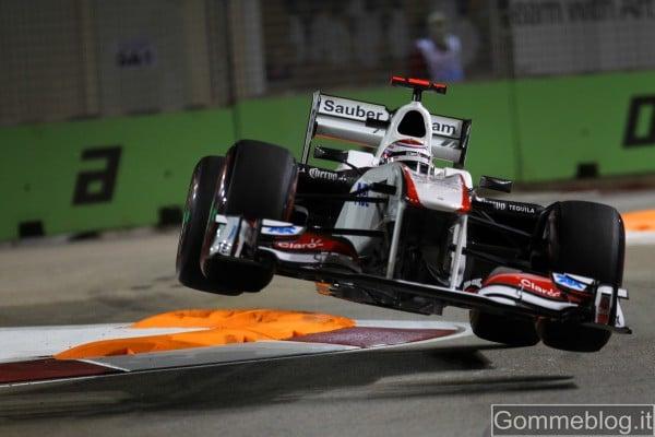 F1 GP Singapore: Vettel più veloce nelle libere con i P Zero Red Supersoft