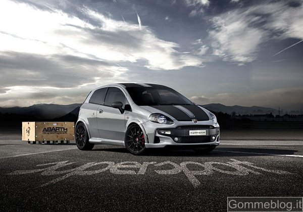 Nuova Fiat Abarth Punto SuperSport: 180 CV e look super sportivo