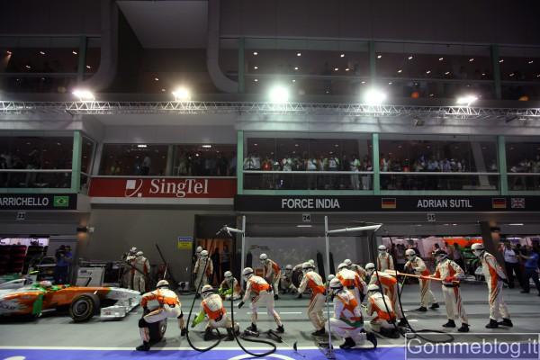 Formula 1: le immagini più belle del Gran Premio di Singapore