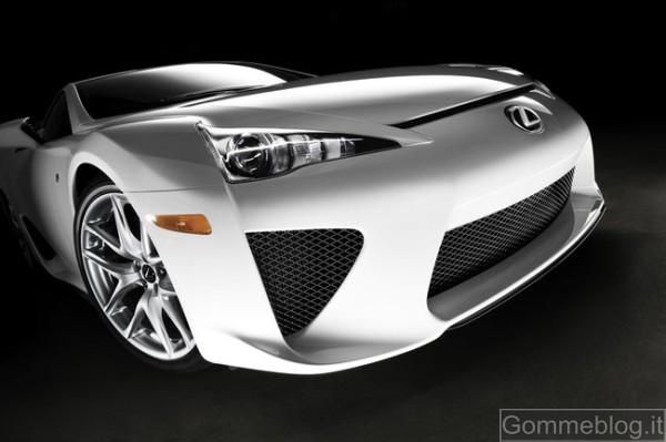 Lexus LFA … quando i Giapponesi si arrabbiano