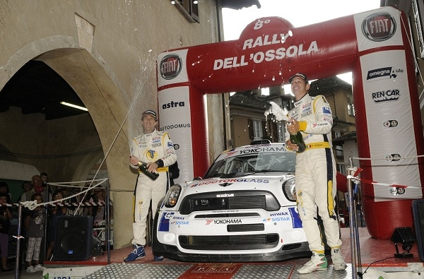 Yokohama e Piero Longhi vincenti al Rally dell'Ossola 2