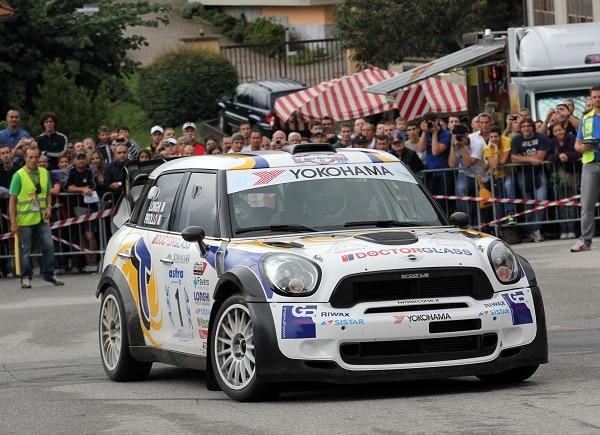 Yokohama e Piero Longhi vincenti al Rally dell'Ossola