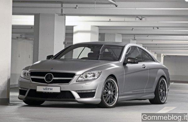Mercedes CL63 AMG Tuning by Väth: 630 CV e limite a 300 Km/h