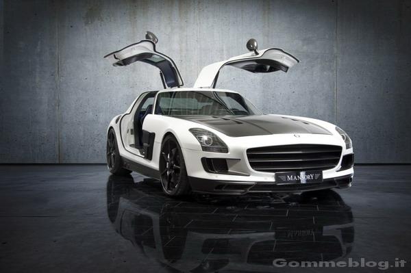 Mercedes SLS AMG Mansory: Michelin Pilot Sport 2 per domare 732 CV