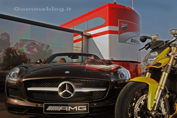 SLS AMG Roadster e Ducati Streetfighter 848, gemelle diverse 2