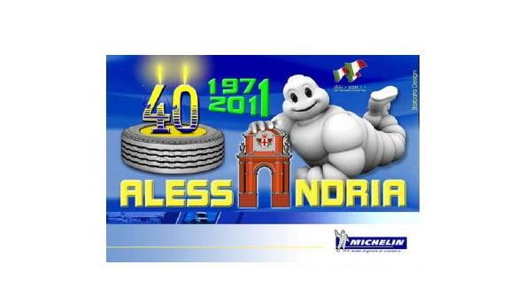 Michelin festeggia i 40 anni del proprio stabilimento di Alessandria