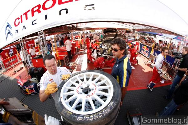 Michelin e il regolamento WRC 2011