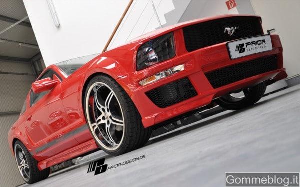 Ford Mustang, Prior Design pompa la vecchia generazione 12