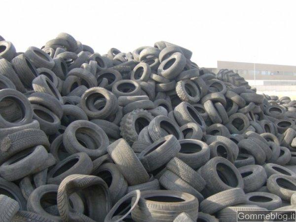 Vi siete mai chiesti che fine fanno i pneumatici fuori uso (PFU)?