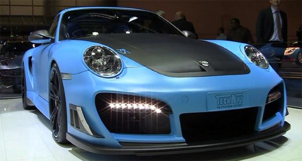 Michelin Pilot Sport Cup per domare i 720 CV della Porsche 911 GT2 RS TechArt