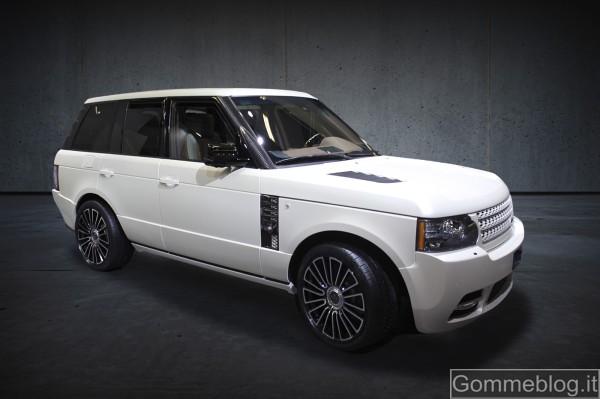 Mansory sceglie Michelin Latitude Sport per la propria Range Rover Vogue