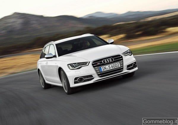 Audi S6 e S6 Avant: nuovo 4.0 TFSI che va più del vecchio 5.2 aspirato