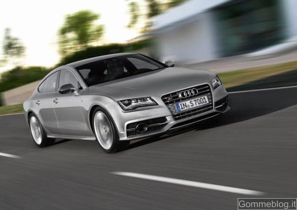 Audi S7 Sportback: gomme UHP da 20 per passare da 0 a 100 in 4.9 sec