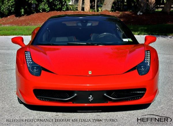 Ferrari 458 Italia Biturbo Heffner Performance