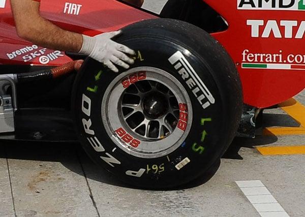 Formula 1 2012, Pirelli vuole cambiare colore alle mescole
