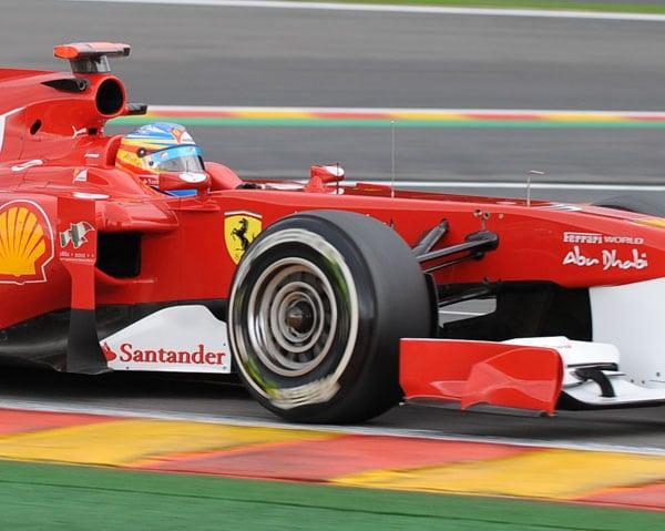 F1: Pirelli molto preoccupata per l'usura dei pneumatici al GP del Belgio